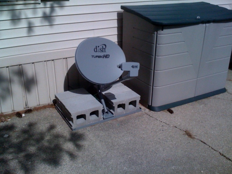 A New Mounting Option For Dish Antennas